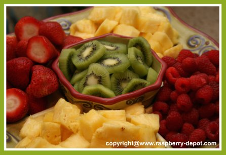 Picture of Fruit Platter / Fruit Tray How to Make