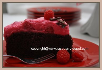 Berries and Cake Picture