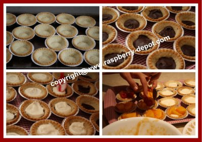 Making Fruit Tarts, How to Make Fruit Tarts with Filling