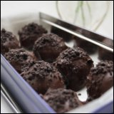 Thanksgiving Day Recipe Chocolate Raspberry Truffles