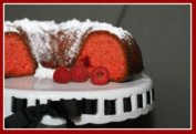 Red Raspberry Cake Bundt Cake