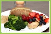 Fruit Salsa for Easter Dinner on Chicken