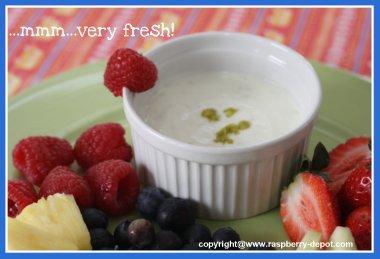 Fruit Dip Recipe with Yogurt or Sour Cream Fat Free Fruit Dip