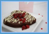 Heart Shaped Brownie Cake Recipe
