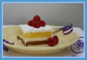 Creamy Lemon Dessert Squares