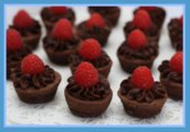 Simple Brownie Tarts