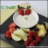 Thanksgiving Recipe - Fruit Dip Recipe with Yogurt