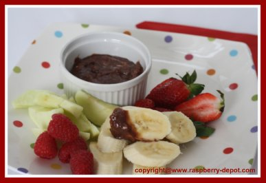Hazelnut Chocolate Fruit Dip Recipe