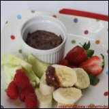 Thanksgiving Recipe Hazelnut Chocolate Fruit Dip Recipe