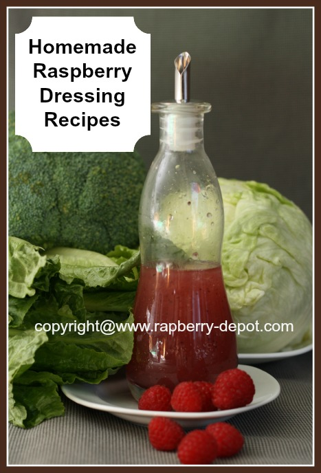 Picture of Homemade Raspberry Salad Dressing/Raspberry Vinaigrette