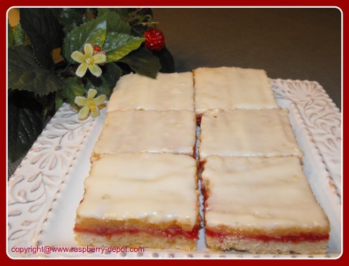 Lemon Raspberry Bars Raspberry Squares