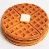 Thanksgiving Recipes Raspberry Waffles