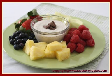 Greek Yogurt or Sour Cream Fruit Dip Recipe