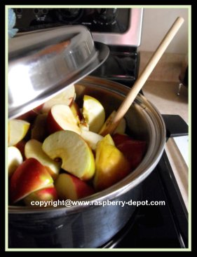 Recipe for Making Applesauce with Foleys Food Mill