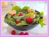 Mixed Green Salad with Crotons