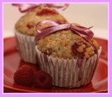 Raspberry Whole-Wheat Muffins