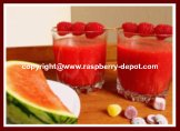Raspberry Slushie Drinks