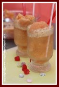 Raspberry Frozen Drink