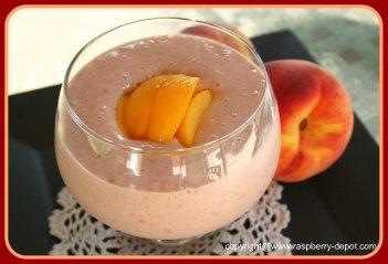 Berry Smoothie with Yogurt Skim Milk Oats