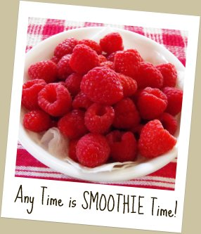 Raspberries to Make Healthy Smoothies