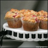 Thanksgiving Recipe Raspberry Apple Muffins