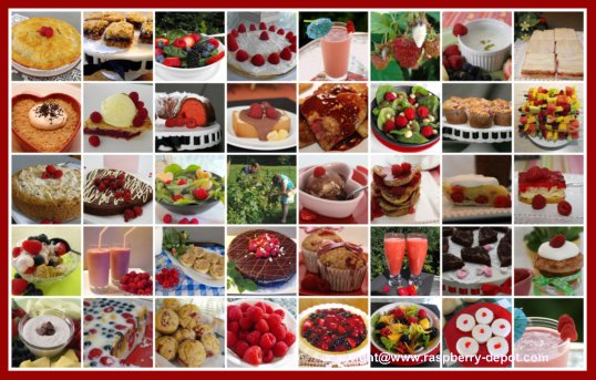 All Raspberry Recipes with Pictures