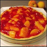Thanksgiving Recipe Raspberry Peach Pie Recipe