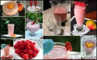 Raspberry Smoothie Drinks for Thanksgiving Day