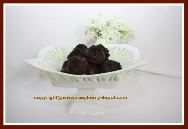 Chocolate RaspberryTruffles Recipe Image