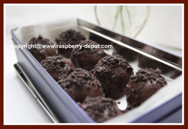 Recipe to Make Truffles for a Gift