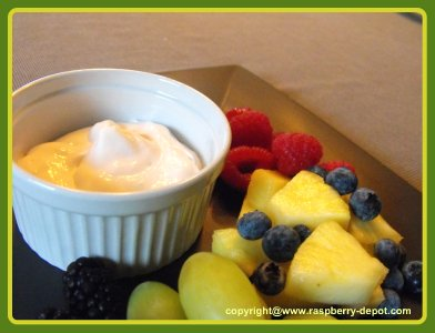 Easiest Ever Dip Recipe with Yogurt for Fresh Fruit