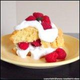 Thanksgiving Recipe Raspberry Shortcake
