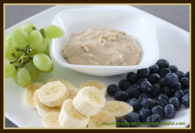 Fruit Dip Recipe with Cream Cheese Homemade Quick and Easy