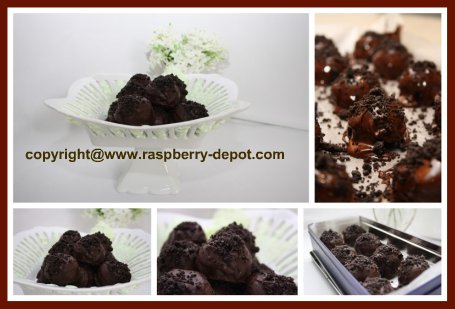 Easy Homemade Raspberry Truffles Recipe