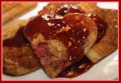 Heart Shaped Valentine Pancakes