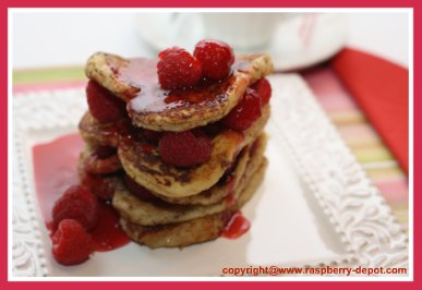 Raspberry Sauce on French Toast Recipe to Make Seedless Raspberry Sauce