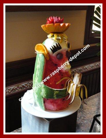 Decorating Watermelon