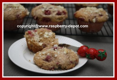 Yogurt Berry Muffins with Whole Wheat Flour