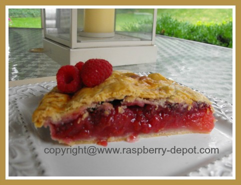 Picture of Best Apple and Raspberry Pie Recipe