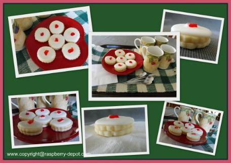 Picture of Raspberry Cookies -Belgian Cookies