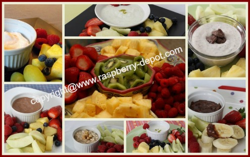 Picture of Fresh Fruit Dip Recipes for Fruit Trays Platters Snack