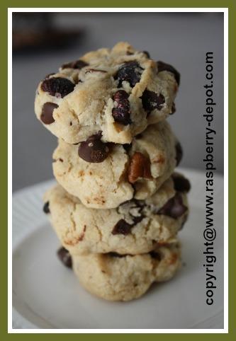 Dried Raspberries Recipe - Cookies