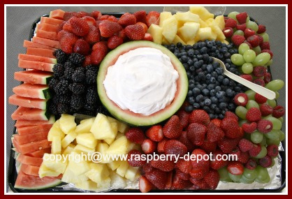 A Fruit Tray for a Crowd to Make at Home
