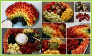 Fruit Trays for Easter