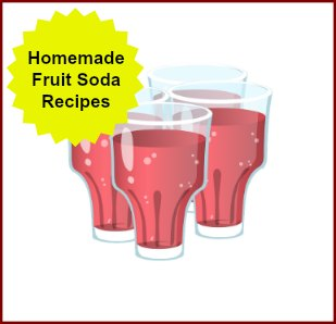Homemade Soda Recipes made with fruit