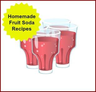 Homemade Soda Recipes made with fruit