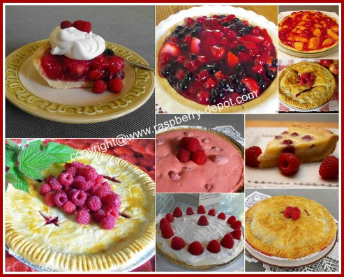 Images of Best and Easy Raspberry Pie Recipes
