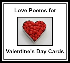 Love Poem and Verse Ideas for Valentine's Day Cards