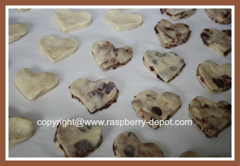 Make Heart Shaped Homemade Biscuits