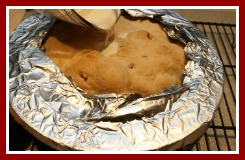 Pie Shield Too Large Fix It